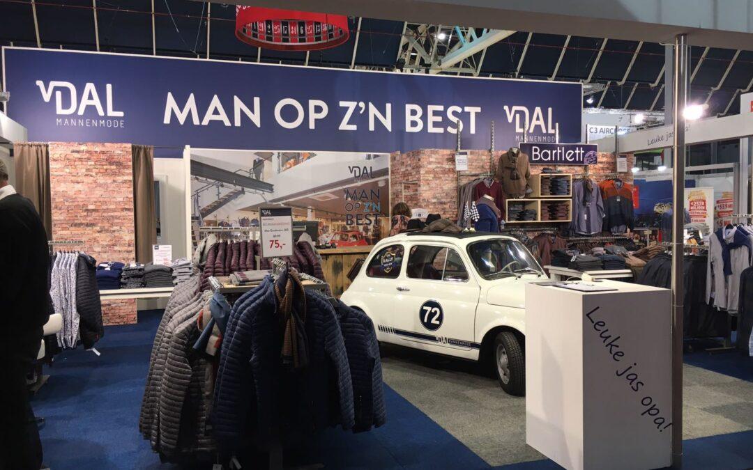 Van Dal Mannenmode 50+ beurs 2018