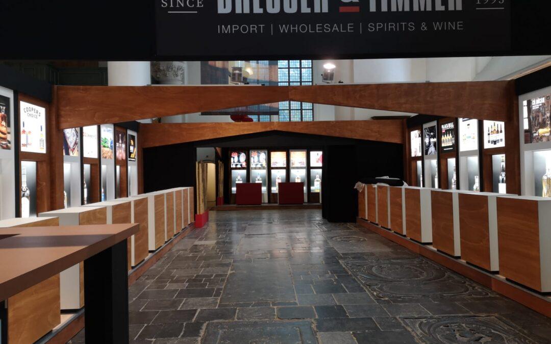 Bresser & Timmer  uitbreiding en aanpassingen bestaande stand