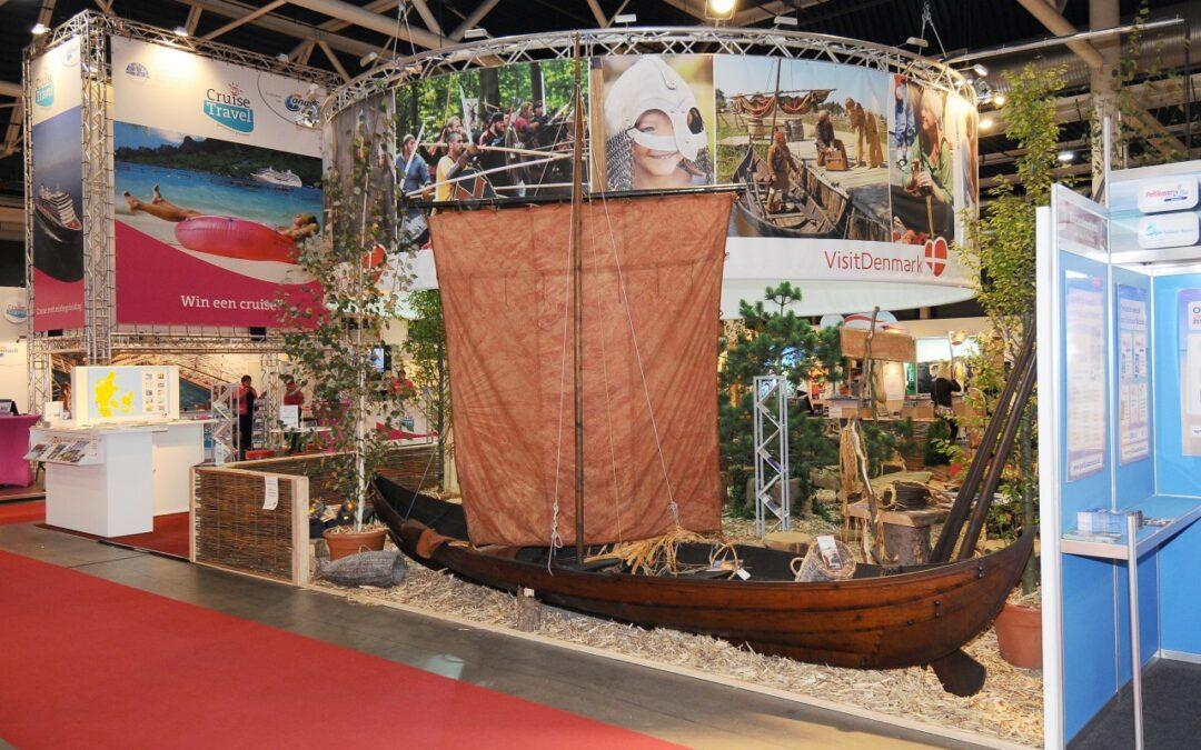v viking met boot